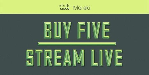 BUY FIVE STREAM LIVE